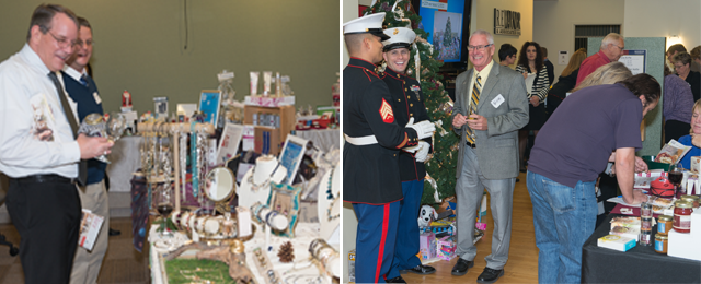 First Annual Open House and Toys For Tots Benefit