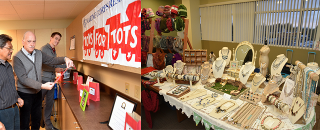 2nd Annual Toys for Tots Open House