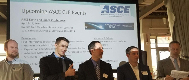 ASCE Cleveland 2017 Officer Ceremony
