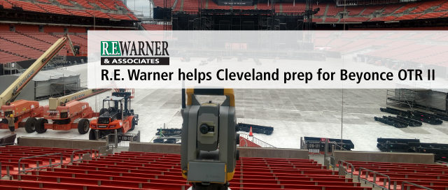 R.E. Warner helps Cleveland prep for Beyonce OTR II Tour Stop