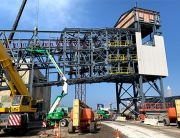 Cargill Boat Loader Steel Structure