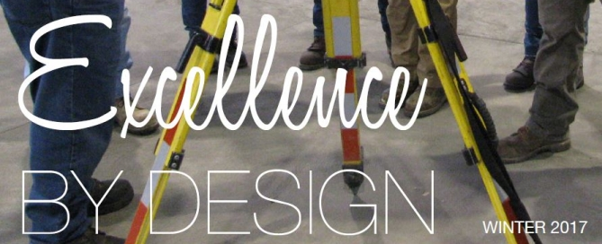 Excellence By Design Cover Winter 2017
