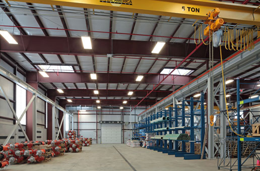 R E Warner Amp Associates Inc Warehouse Improvements For