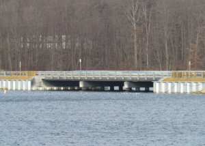 Price Street Bridge Over Walborn Reservoir