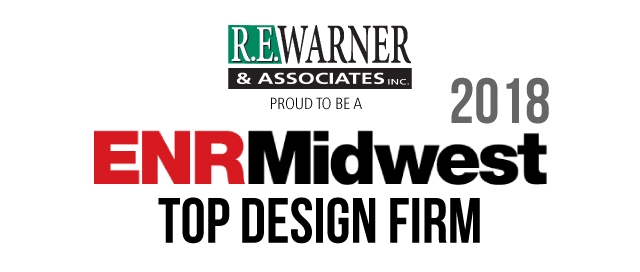 R.E. Warner is an ENR Midwest 2018 Top Design Firm