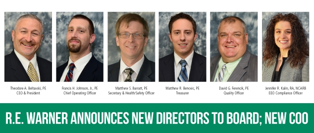 R.E. Warner Announces new Directors to Board; new COO