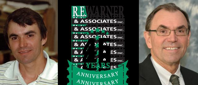 Eddie Dziubek Celebrates 45 Years at R.E. Warner